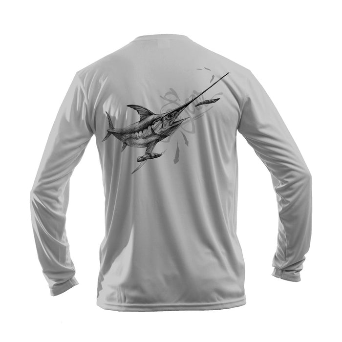 Swordfish Long Sleeve Performance Tee