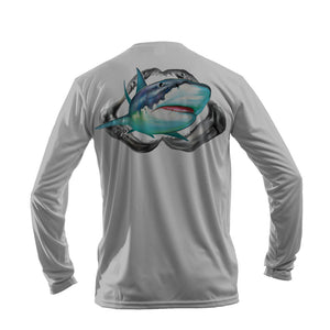 Tiger Shark Long Sleeve Performance Tee