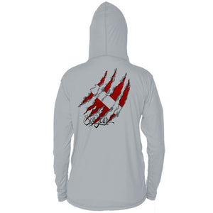 Torn Flag Long Sleeve Performance Hoody