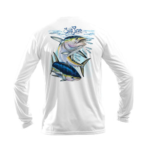 Tuna Schooling Long Sleeve Performance Tee