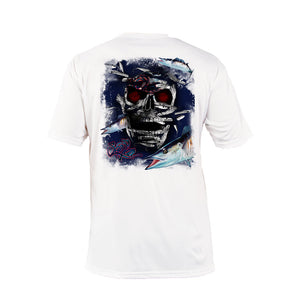 Wahoo Skull Short Sleeve Performance Tee