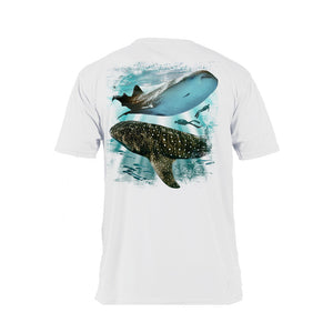 Whale Shark Short Sleeve Performance Tee