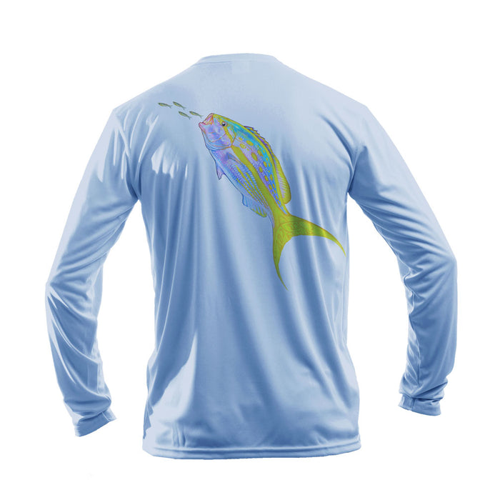 Yellowtail Long Sleeve Performance Tee