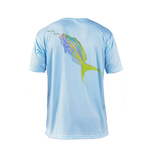 Yellowtail Short Sleeve Performance Tee