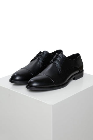 DERBY SHOE - BLACK