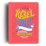 I Am A Rebel Girl Journal - Front Cover