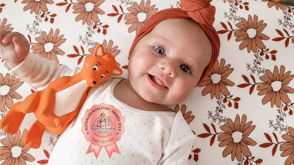 Australian Non-Toxic Awards 2019 - Mizzie Announced as a FINALIST for the Baby Teething Category