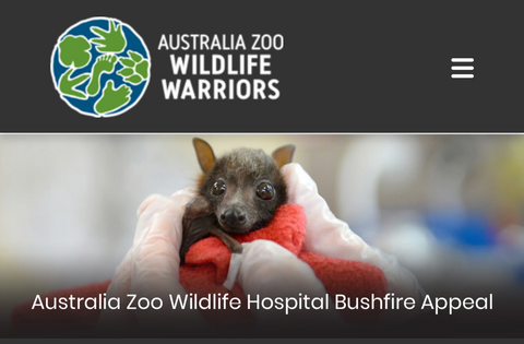 Donate to Australia Zoo's Wildlife Bushfire Appeal