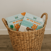 Baby Board Book Gift Set Be Active and At the Beach