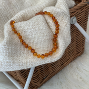 Baby Amber Teething Necklace HONEY