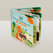 Mizzie Interactive 'Touch and Feel' Baby Board Books - 2 Titles