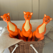 3 Mizzie The Kangaroo Baby Teething Toy