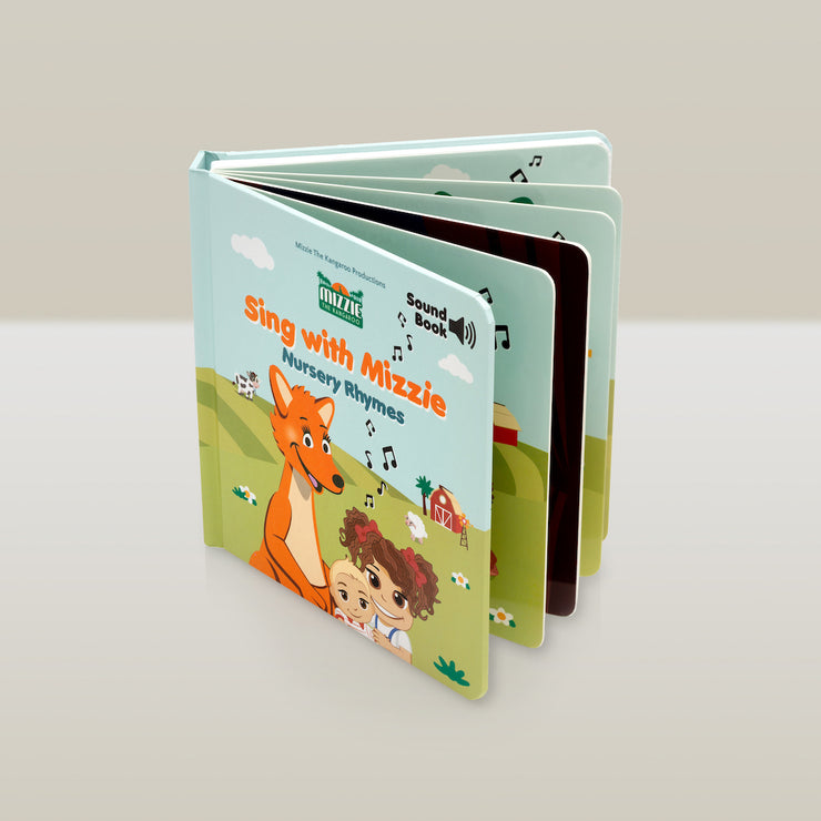 'Sing with Mizzie Nursery Rhymes' SOUND Book