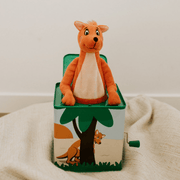 Mizzie The Kangaroo Musical Hop Out Mizzie Music Box for Toddlers Front view