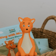 Mizzie Teething toy with books gift set