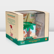 Mizzie the Kangaroo Toddler Learning Time Gift Pack front angled view