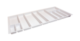 Hafele 556.55.7 Sky Plastic Cutlery Tray in Textured White -  Pro-edge HD