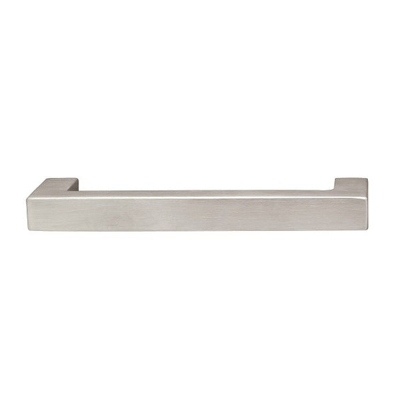 Hafele 100.45.051 Matt Stainless Steel Handle Cabinet Pull -  Pro-edge HD