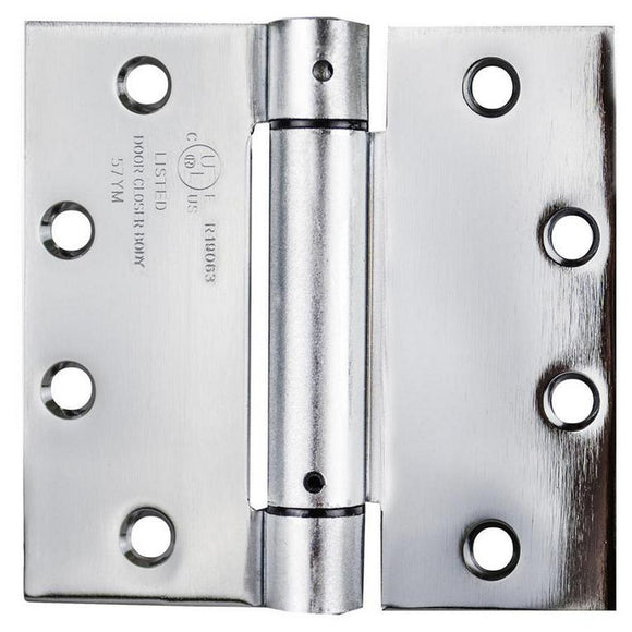 Commercial Full Mortise Spring Hinge 4.5x4.5 inches (Set of 3) -  Pro-edge HD