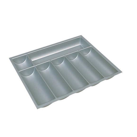 Hafele 556.53.5 Plastic Cutlery Tray in Silver -  Pro-edge HD