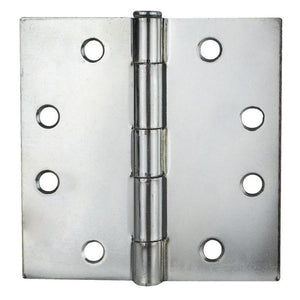 "Residential 4"" x 4"" Square Corner Full Mortise Hinge (Set of 2) -  Pro-edge HD"
