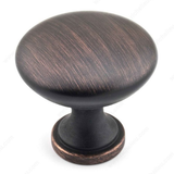 Richelieu BP8041 Traditional Metal Mushroom Knob