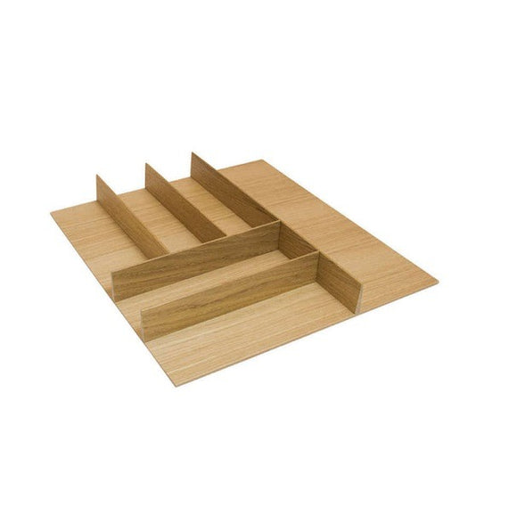 Hafele 556.87.4 Small White Oak Cutlery Tray -  Pro-edge HD