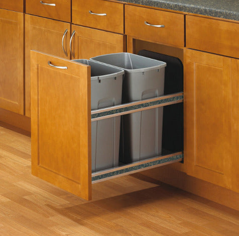 Hafele 503.11.527 Double Pull Out Waste Bins -  Pro-edge HD