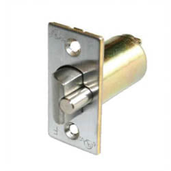 "2-3/8"" Backset Deadlatch (Bright Brass) -  Pro-edge HD"