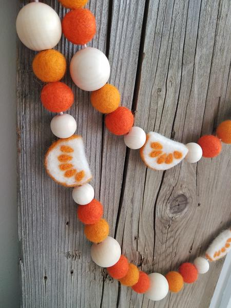 Orange Crush Garland