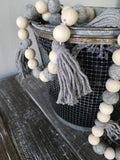 Gray Tassel Garland