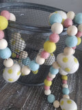 Easter egg garland. Easter eggs. Felt eggs. Easter garland. Spring. 5ft
