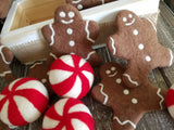 Peppermint candy. Felt peppermint candy. Peppermint candy ornament. Peppermint decorations. Candyland. Christmas candy.