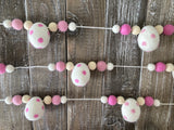 Easter egg garland. Easter egg decor. Easter eggs 5ft
