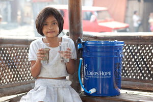GIVE clean water: Water filter