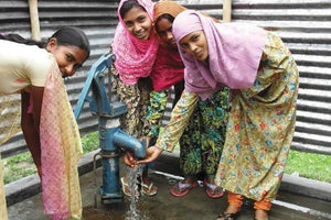 GIVE clean water: Village well