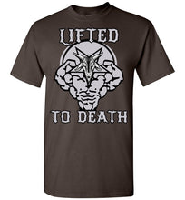 "Load image into Gallery viewer, Lifted To Death ""Goat"" Short-Sleeve T-Shirt"