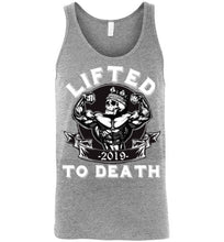 Load image into Gallery viewer, Lifted To Death King Canvas Unisex Tank