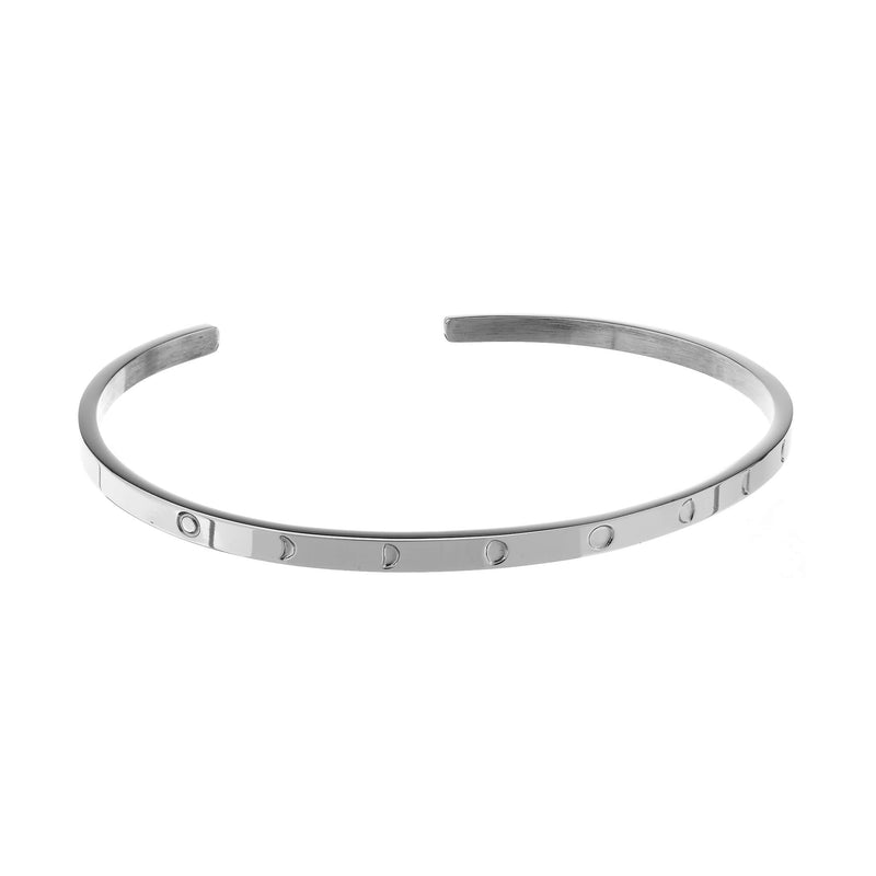 Moon Phases Bracelet Silver