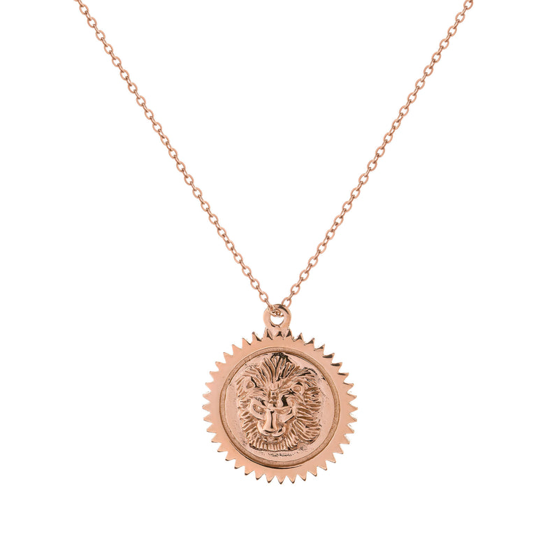 Leo Necklace Rose Gold