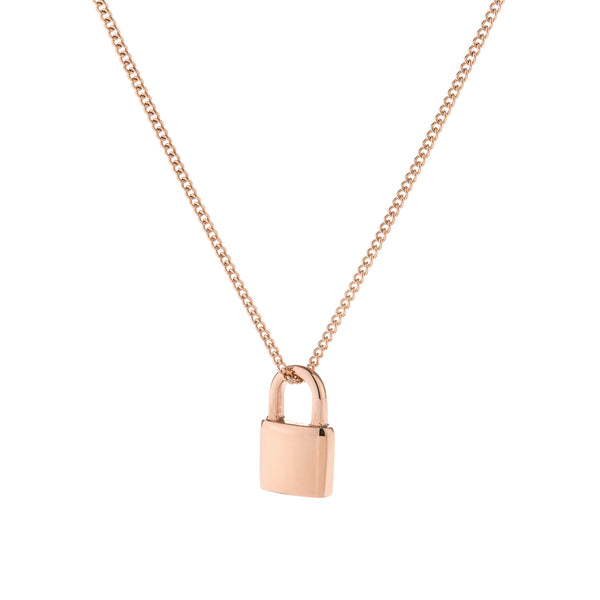Yua Necklace Rose Gold