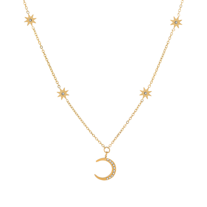 Selene Necklace Gold