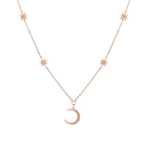 Selene Necklace Rose Gold