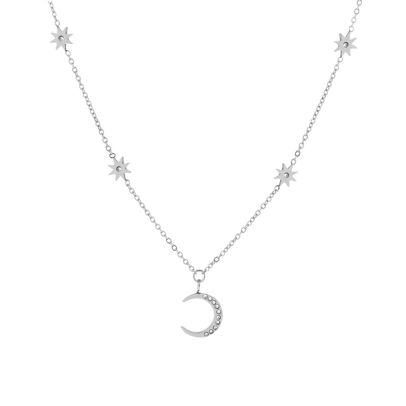 Selene Necklace Silver