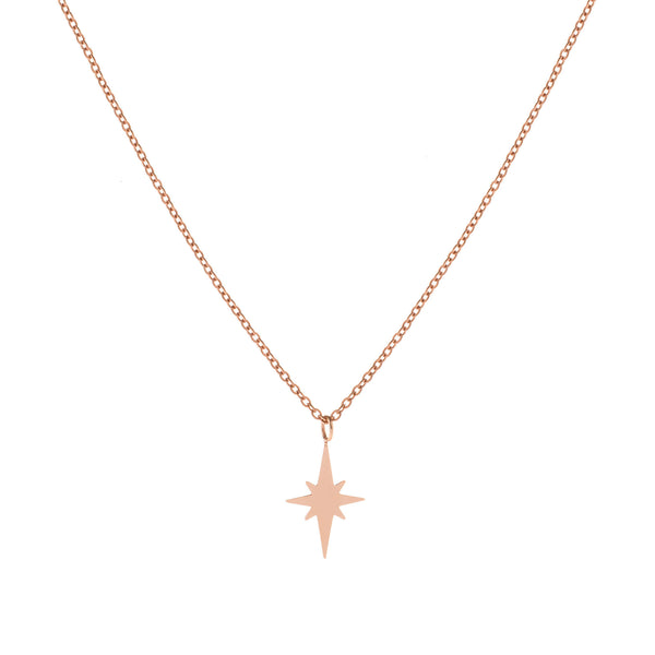 Sirio Necklace Rose Gold