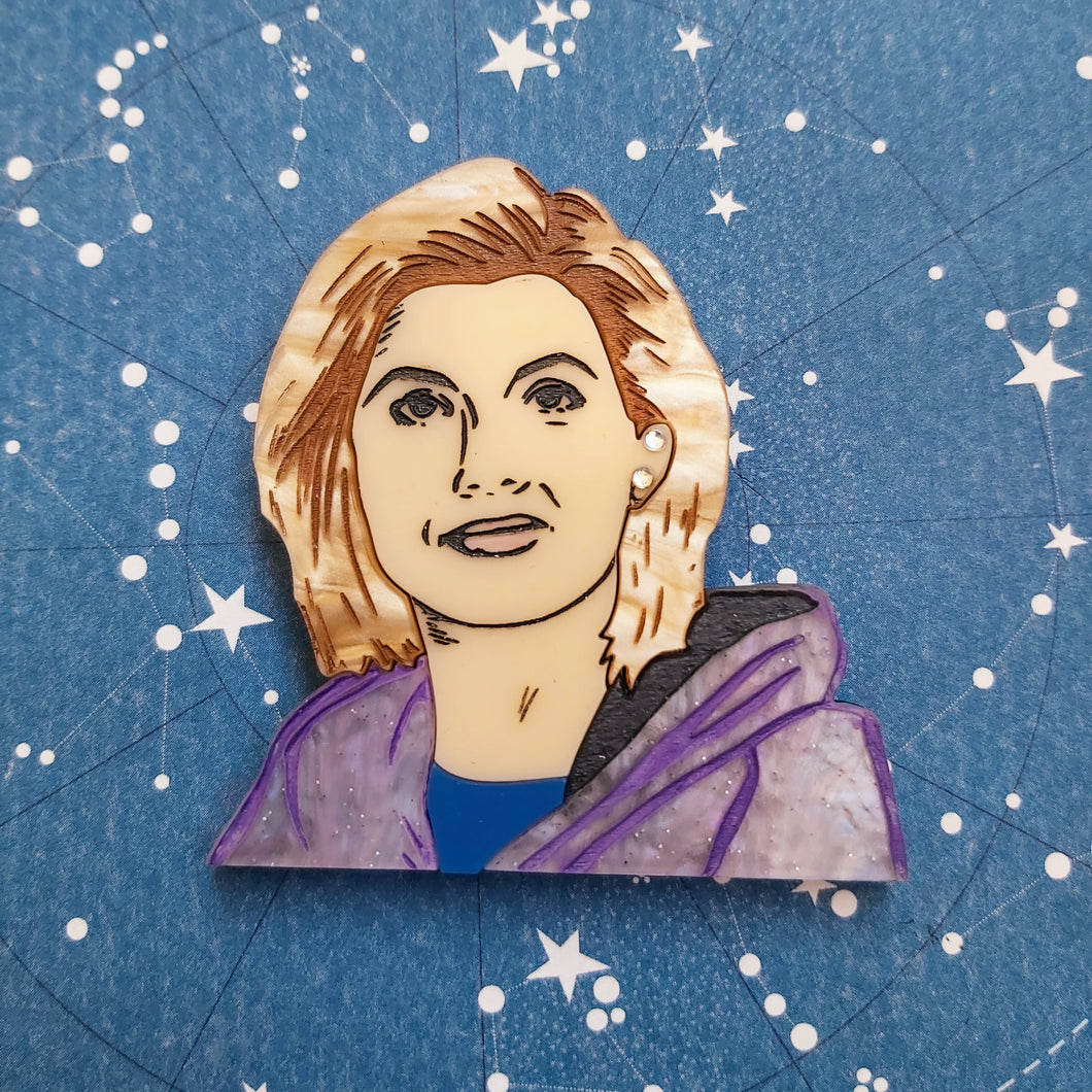 Jodie Whittaker 13th Doctor brooch