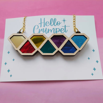 Diamond brights necklace