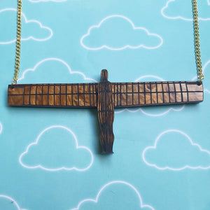 Angel of the North necklace