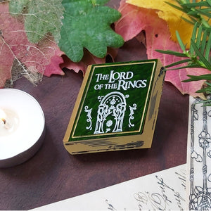 Lord of the Rings book brooch
