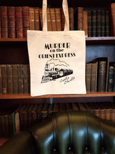 Load image into Gallery viewer, Agatha Christie Murder on the Orient Express cotton tote book bag